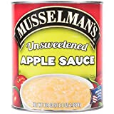TableTop King #10 Can Natural Unsweetened Apple Sauce - 6/Case