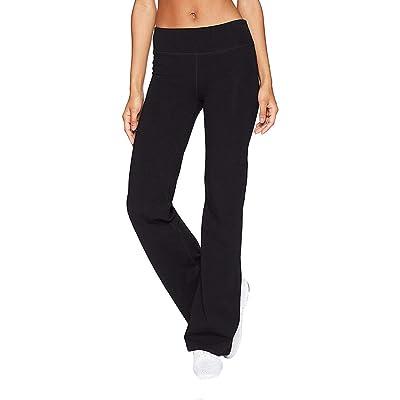 Kiyotoo Bootcut Yoga Pants, Women High Waist Stretch Yoga Pants Basic/Back Pocket/Straight Leg Soft Workout Flare: Clothing
