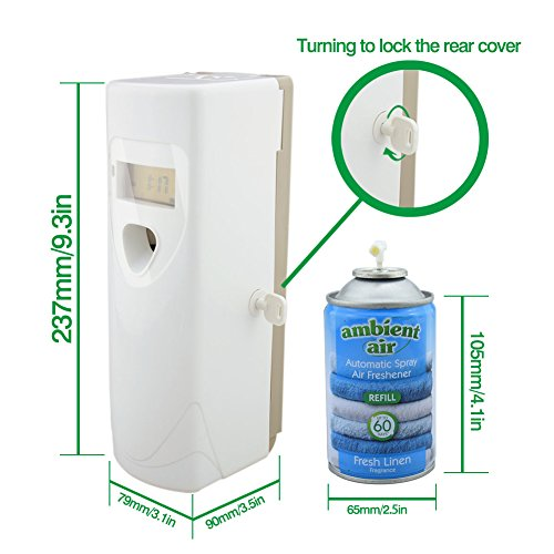 Eleta commercial automatic air freshener dispenser