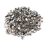 Onlyfire Reflective Fire Glass for Natural or Propane Fire Pit, Fireplace, or Gas Log Sets, 10-Pound, 1/2-Inch, Bronze