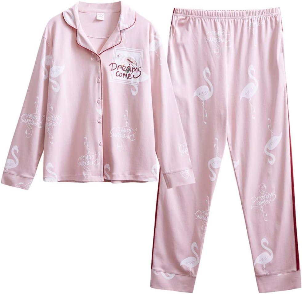 DUXIAODU Pijama de algodón para Mujer | Suave y cómodo | Elegante y Simple,Albornoz Suelto de algodón Cardigan A-1 M: Amazon.es: Hogar