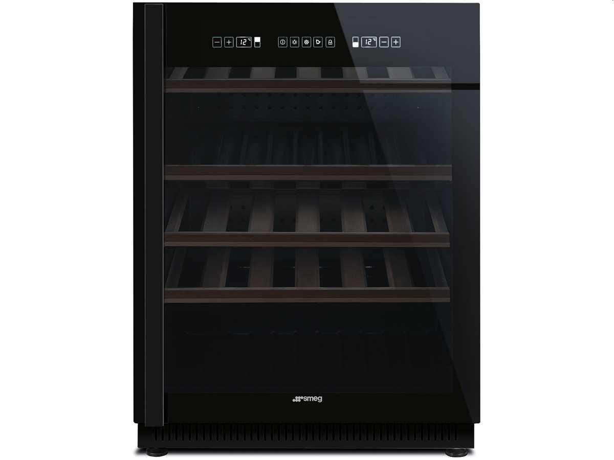 Smeg Unterbau Kühlschrank : Smeg cvi n unterbau weinkühlschrank weinklimaschrank schwarz