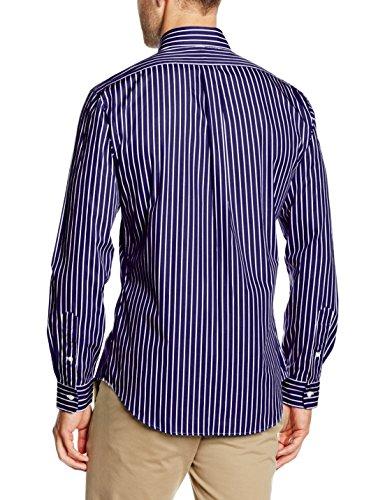 Polo Ralph Lauren, Camisa para Hombre Blau (101A NAVY STRIPE C4SP1)