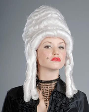 Victorian Queen Revolutionary White Women s Wig 18th Century Marie  Antoinette by Enigma Costume Wigs 0abe2e6a5d