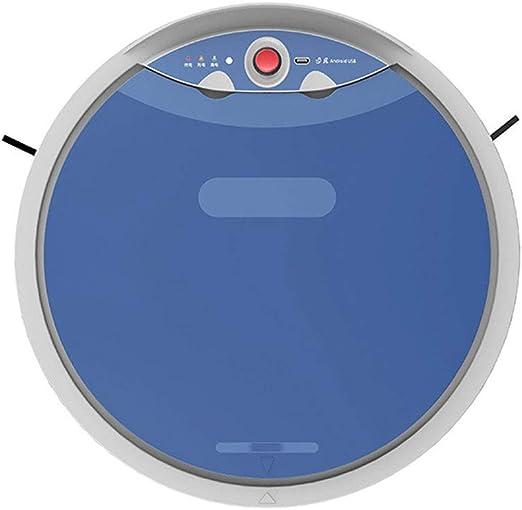 LAHappy Robot Aspirador 800 Pa, Barre, Friega Y Pasa La Mopa,Sensor Inteligente De Detención De Caídas, para Todo Tipo De Suelos,Azul: Amazon.es: Hogar