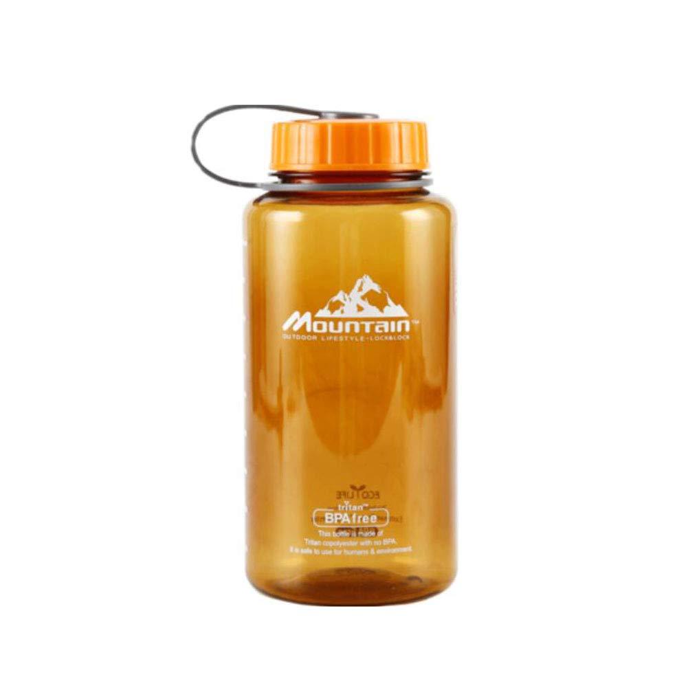 F & H FH Gesundheit Wasserflasche Kunststoff Sport Wasser Tasse Fitness Wasserkocher Große Kapazität Tasse Student