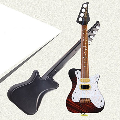 Lowpricenice(TM) New Pattern simulation Guitar Toy Music Kids Gift White