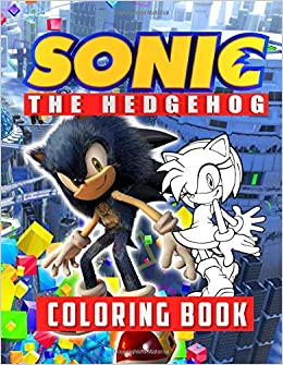 Sonic the Hedgehog Coloring Book: Sonic Coloring Book with High ...