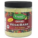 Vogue Cuisine Vegetable Soup & Seasoning Base 12oz (Vegebase, Vege Base) - Low Sodium & Gluten Free