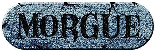 Forum Novelties Ghouls Graveyard Morgue Foam Plaque, 18