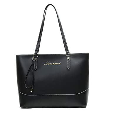 519bfd79221 Image Unavailable. Image not available for. Color  Naiermai Genuine Leather  Tote Bag for Women ...