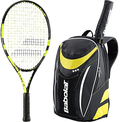 Babolat Nadal Junior 25 Inch Tennis Racquet bundled with ...