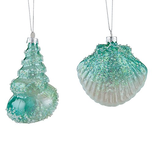 51GkYP7il6L Amazing Seashell Christmas Ornaments