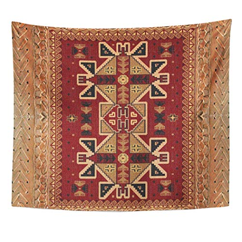 Semtomn Tapestry Artwork Wall Hanging Southwest Western Sw Tribal Navajo Forest Brown Styles American 60x80 Inches Tapestries Mattress Tablecloth Curtain Home Decor Print