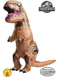 Rubies Costume Men's Jurassic World T-Rex Inflatable Costume