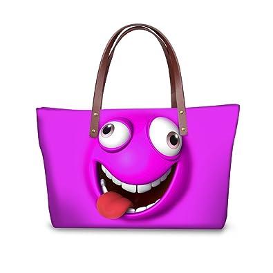 Amazon.com: sannovo Emoji Purse infantil y bolsas de bolsos ...