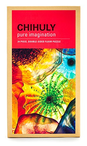 Chihuly Pure Imagination Floor Puzzle - Fiori di Como by Chihuly Workshop