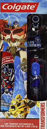 Colgate Transformers Powered Toothbrush Toothpaste