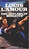 Front cover for the book The Outlaws of Mesquite by Louis L'Amour