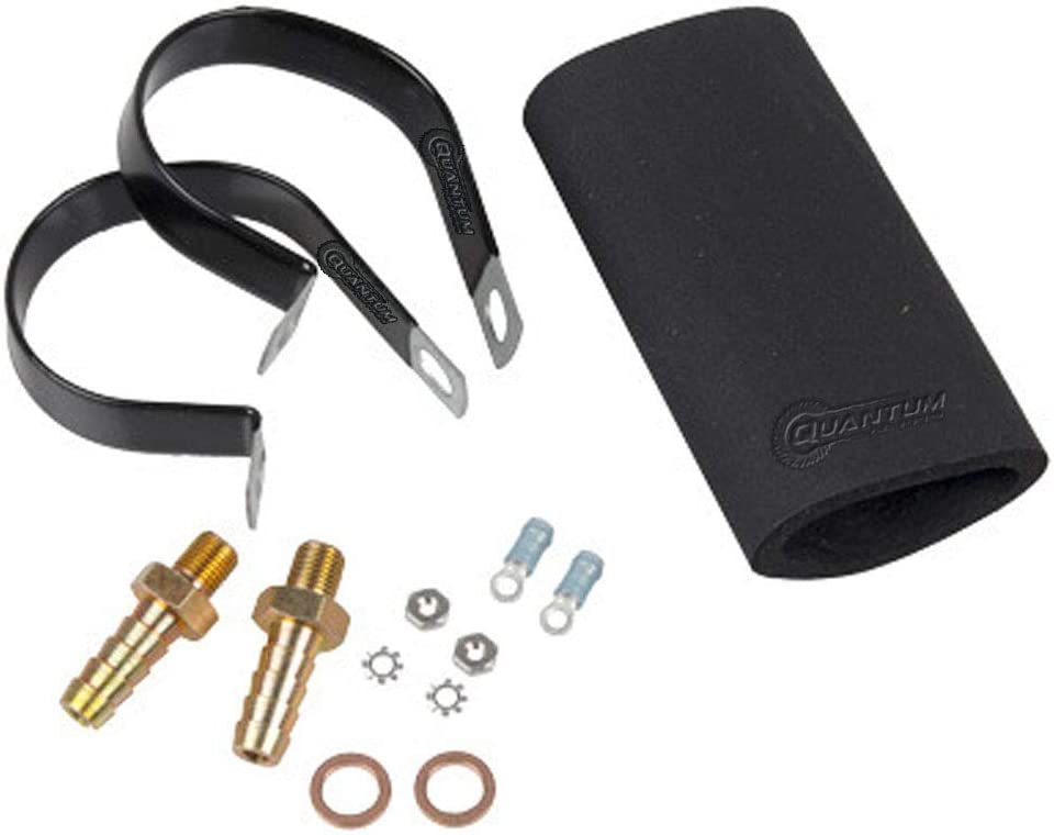 GSL394 GSL395 Fuel Pump GSL393 HFP-K939 Quantum 400-939 Installation Kit w// 3//8 GSL392 10mm Barb Fittings and Mounting Brackets for GSL391