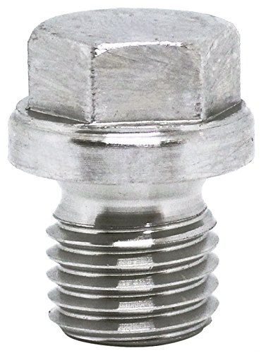 (2pcs) BelMetric M12X1.5 Flanged A2-50 Stainless Steel Hex Head Corrosion Resistant Plugs DIN 910 for Machinery and Fittings, Sealing Washers Included DP12X1.5HSS from BelMetric