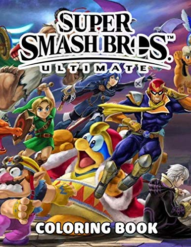 Amazon Com Super Smash Bros Coloring Book Over 50 Coloring Pages About Super Smash Bros Exclusive Artistic Illustrations For Girls And Boy Of All Ages 9798671103120 Shirley Sipes Books