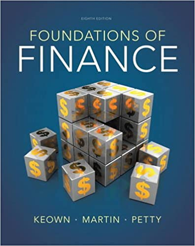 foundations of finance 7th edition answer key