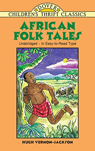 African Tales Childrens Thrift Classics ebook product image