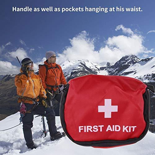 Bandage de Drogue Sac de Rangement imperm/éable /à leau Trousse de Secours Sac Vide PVC Rouge Rouge 0,7 L Camping Survie ext/érieur