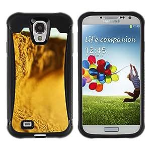 Suave TPU Caso Carcasa de Caucho Funda para Samsung Galaxy S4 I9500 / Plant Nature Forrest Flower 87 / STRONG