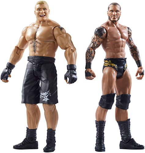 WWE SummerSlam Brock Lesnar & Randy Orton Action Figure (2 Pack) by WWE