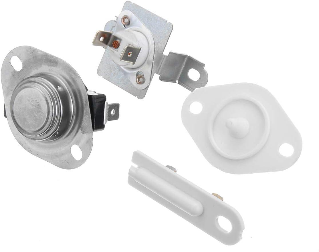 ZHFENG Buet Dryer Thearmost Thermal Fuse Kit 279973 8577274 3392519 Piezas de maquinaria for la secadora Whirlpool Herramienta de procesamiento de accesorios para má: Amazon.es: Bricolaje y herramientas