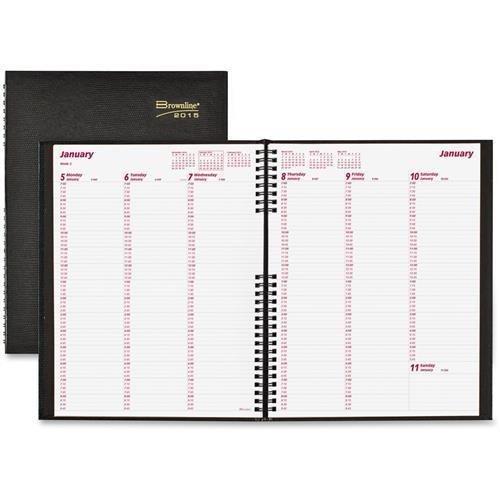 Rediform Weekly Planner,Hardcover,Weekday Schedule,11