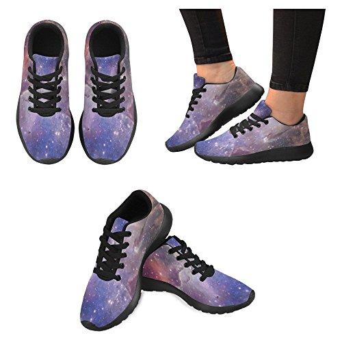 Interestprint Womens Jogging Running Sneaker Leggero Go Easy Walking Casual Comfort Scarpe Da Corsa Nebulosa E Stella Multi 1