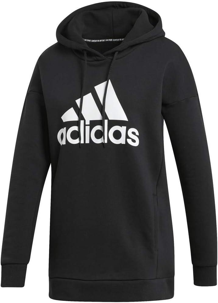 adidas womens Must Haves Badge of Sport Logo Hoodie