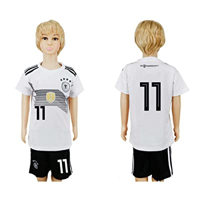 Puizozi 2018 Russia World Cup Germany National Team #11 Kids Home Sport Soccer Jersey