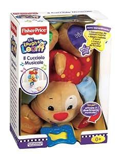fisher-price N0907 cachorro mœsica de la primera infancia