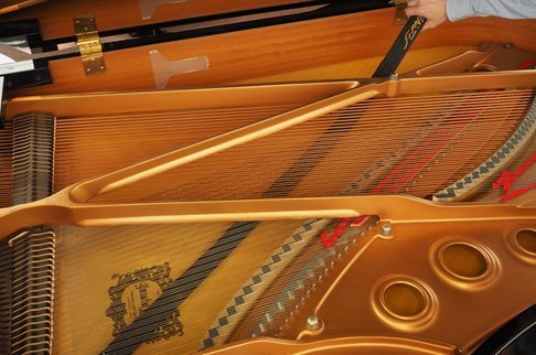 Grand Piano Sweeper Soundboard Cleaner Duster 50'' Long