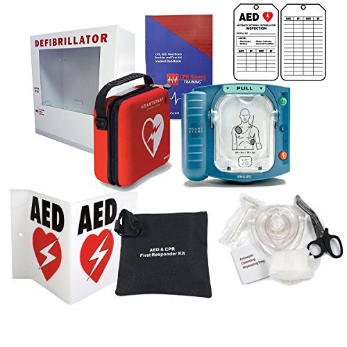 Philips Heartstart AED Defibrillator Bundle