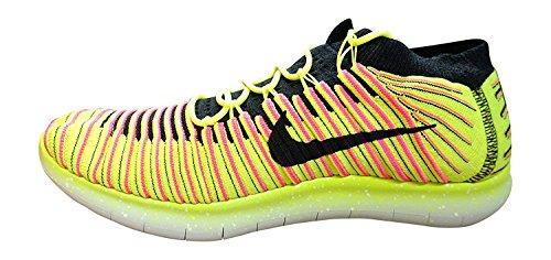 Nike Free Rn Motion Flyknit Oc Heren Hardloopschoenen Trainers 843.433 Sneakers Schoenen (us 10, Veelkleurig 999)