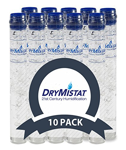 DryMistat Humidor Humidifier Tubes, Crystal Humidity Tubes (10 CT) by DryMistat