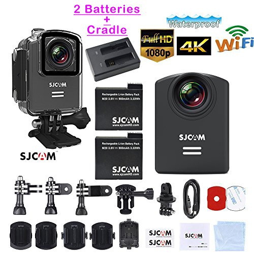 Genuine SJCAM M20 2.5K Photo Gyro Video Camcorder Resolution Mini Action Helmet Wifi Camera Waterproof 2160PHD Sport DV Riding Recorder by SJCAM