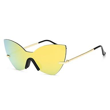 Amazon.com: OUBAO Gafas de sol cuadradas novedad mosaico ...