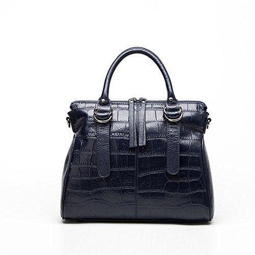 Sauvage Fashion À Main GWQGZ Bandoulière À Lady Bleu Sac Blue Sac XTXa1fq
