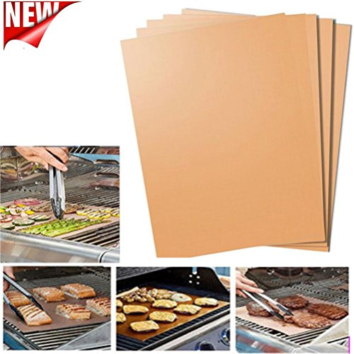Practical BBQ Mats,Efaster New Kitchen Copper Chef Grill and