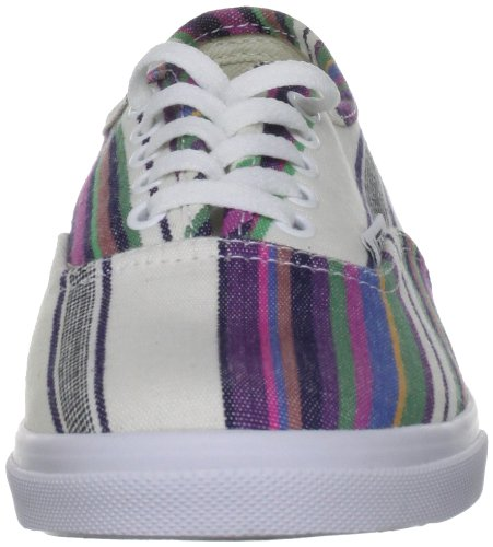 Stripe Authentic Multi Lo Unisex Top Low True Trainers Pro Adults' Vans White qzd6Rq