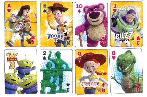 Disney Toy Story 3 Playing Cards ()
