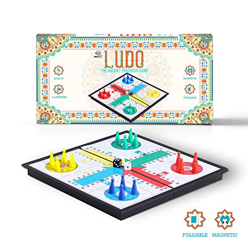 Mart NS Folding Magnetic Ludo Board Game - Classic for sale  Delivered anywhere in USA
