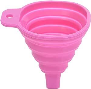 Li Ying LY273 Foldable Funnel, Pink