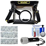 DiCAPac WP-S3 Waterproof Case for ILC Cameras with LED Torch + Silica Gel + Kit